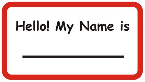 printable name tags with pictures free printable name tag newhairstylesformen2014 com
