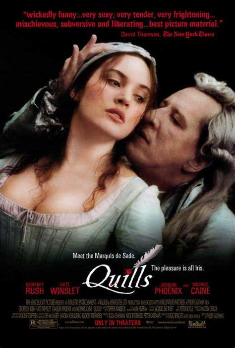 Quills Movie Poster | quills movie posters from movie poster shop