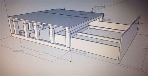 Bau Dein Schrank by Die Besten 25 Podestbett Ideen Auf Podestbett
