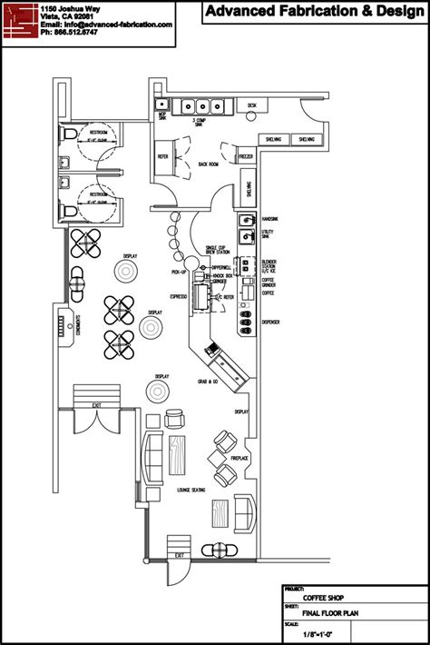 Floor Plan Layouts by Coffee Shop Design Coffee School Coffee Consulting
