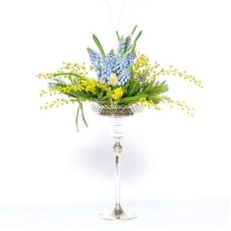 Table Flower Arrangements by Table Flower Arrangement With Muscari Ikebana Beautiful