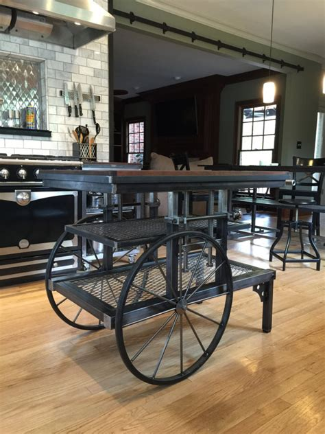 industrial kitchen islands 15 funky kitchen islands that will make you jump on the repurposing trend