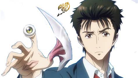 anime parasyte shinchii from parasyte anime render by primaroxas on