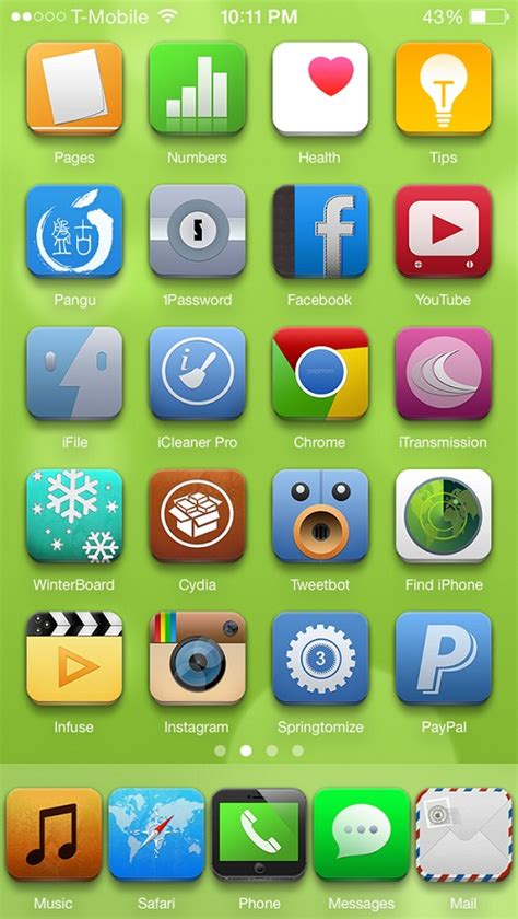 zen 8 themes iphone top 10 best winterboard themes for ios 8