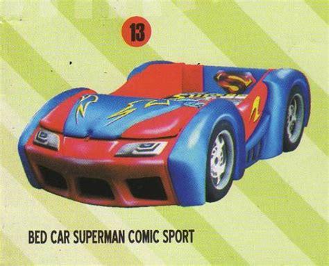 superman bed bigland bed car superman comic sport bigland