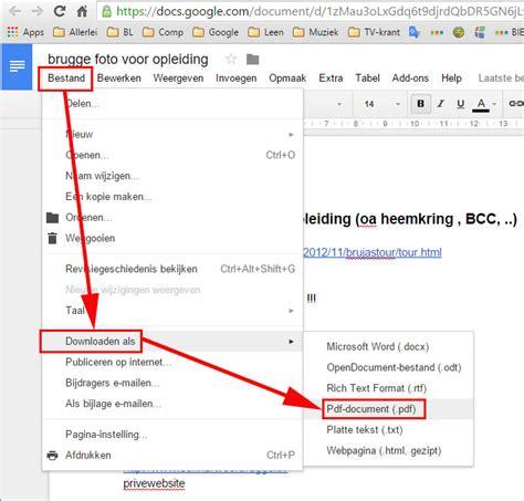 drive pdf document in google drive opslaan als pdf tekst voor