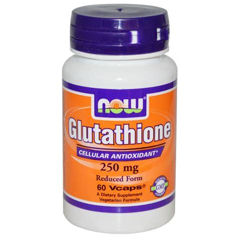 Gluta Suplemen now foods glutathione 250 mg 60 veggie caps iherb