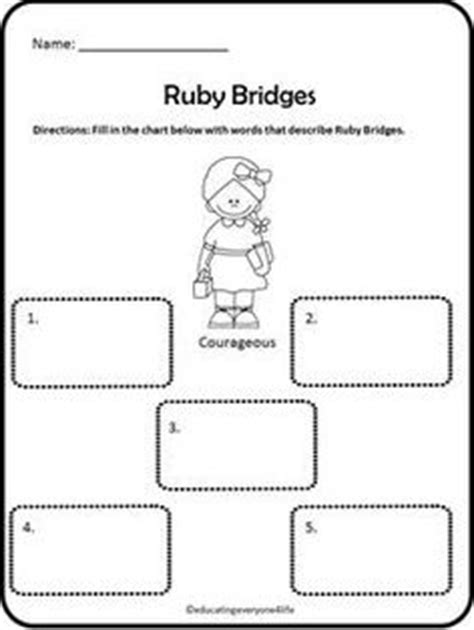 Ruby Bridges Worksheets by 1000 Images About Reading Nonfiction Strategies On