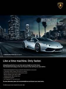 Lamborghini Advertisement Luxury Daily