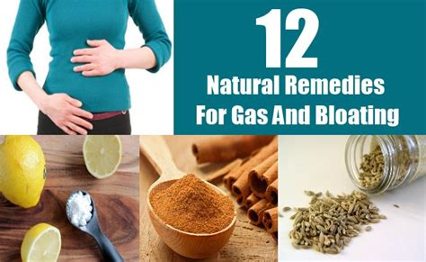 12 remedies for gas and bloating diy home