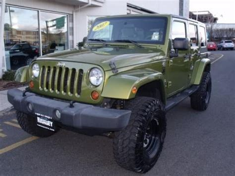 2007 Jeep Wrangler Weight 2007 Jeep Wrangler Unlimited 4x4 Data Info And