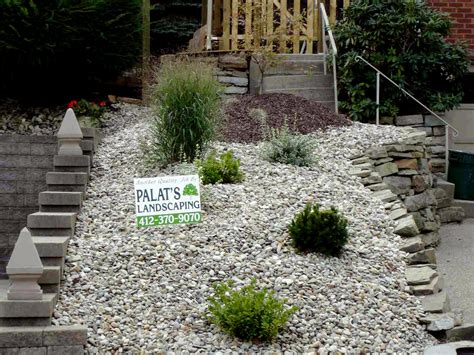 rock landscaping ideas how about a water feature