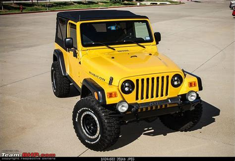 Jeep Evolution Evolution Of My Jeep Rubicon Page 6 Team Bhp