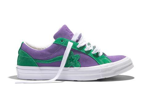 Sneakers Converse One X Golf Le Fleur Green Bnib where to buy the creator x converse golf le fleur sneakernews