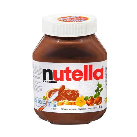 vaso nutella comprar nutella botellas de 3 kg