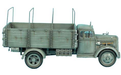 opel blitz cer veh006 opel blitz truck 24th panzer division
