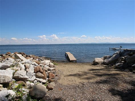 boat launch nearby lakefront getaway near private beach homeaway north hero