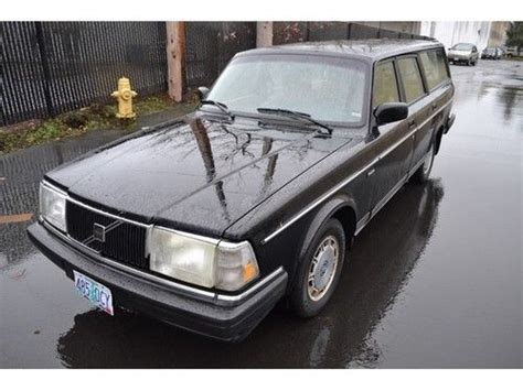 where to buy car manuals 1993 volvo 240 auto manual buy used 1993 volvo 240 5 speed manual 4 door wagon in bellevue washington united states