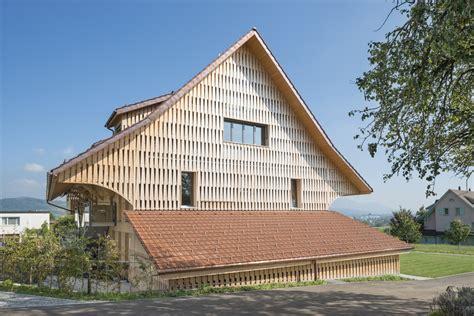 Scheune Schweiz by Ersatzneubau Mfh Messikommer Seegr 228 Ben Schweizer