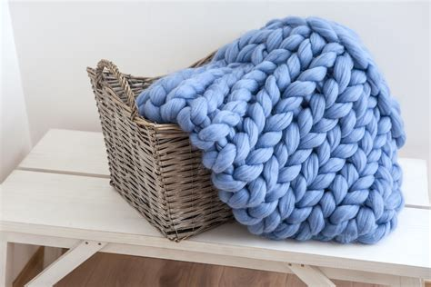 decke aus wolle how to care for your chunky merino wool blanket