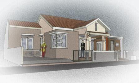 renovasi hemat menggabungkan  rumah bersebelahan dakwatunacom