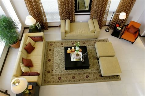 Indian Seating In Living Room by Maximo Fernando