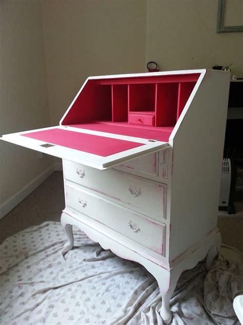 desk painting ideas a lovely secretary desk finished in henrietta old white