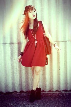 Valleygirl Back Dress black beanie cotton on hats skater valleygirl dresses