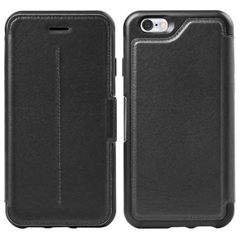 Apple Leather For Iphone 55sse 66s 66s 77 otterbox 77 51582 strada series carrying for apple iphone 6 blk vip outlet