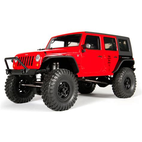 jeep rock crawler rc axial 90027 scx10 jeep wrangler rc truck kit at hobby