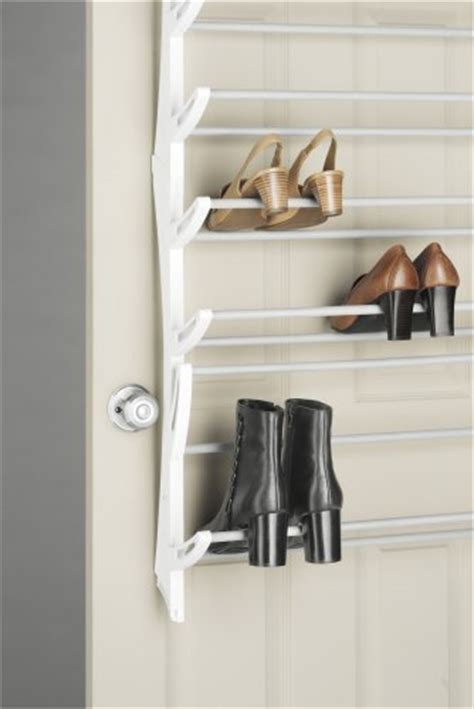 Shoe Rack Closet Door Whitmor The Door 36 Pair Hanging Shoe Rack Organizer Storage Closet Boot Ebay