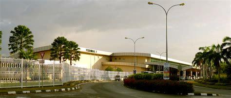 kota kinabalu international terminal 2 of the kota kinabalu international airport
