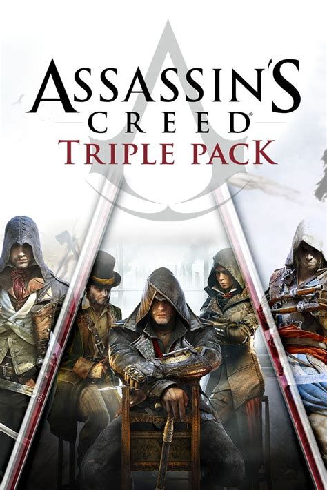 libro black flag assassins creed assassin s creed triple pack 2016 xbox one box cover art mobygames