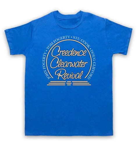 Tshirt Ccr creedence clearwater revival t shirt ccr circle logo
