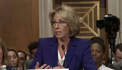 betsy devos update live 5 news update the nomination of betsy devos as