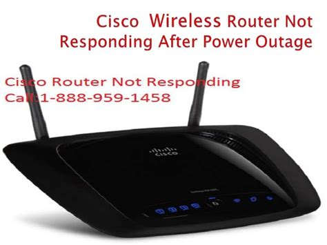 reset verizon fios after power outage cisco wireless router not responding after power outage