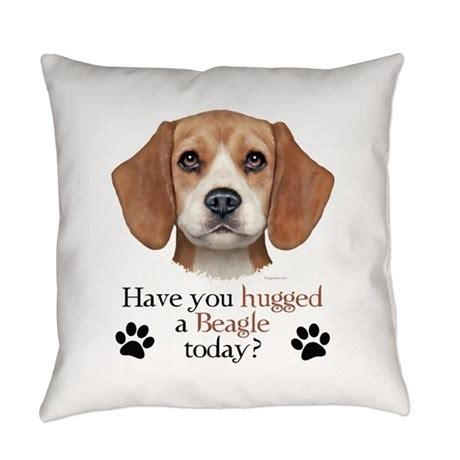 Beagle Pillow by Beagle Hug Everyday Pillow By Doggination