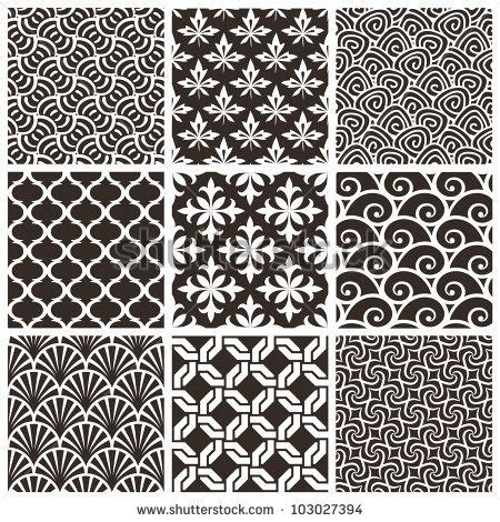 vector background pattern pack set of seamless patterns vector backgrounds collection