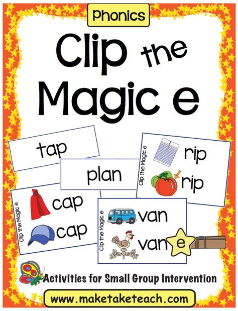 magic e pattern clip the magic e make take teach