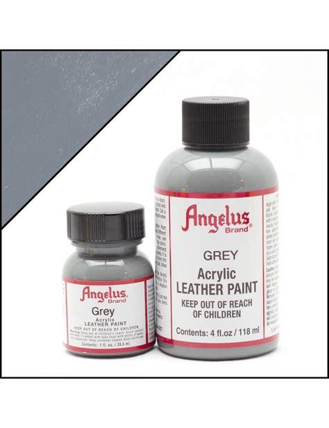 angelus paint brush angelus dyes paint grey 1oz leather paint leather
