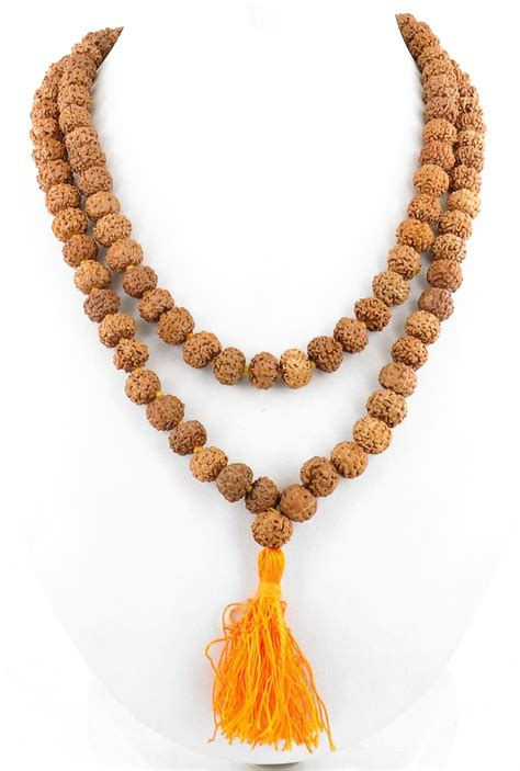 Handmade Malas - buy barishh handmade 4 mukhi rudraksha mala religion