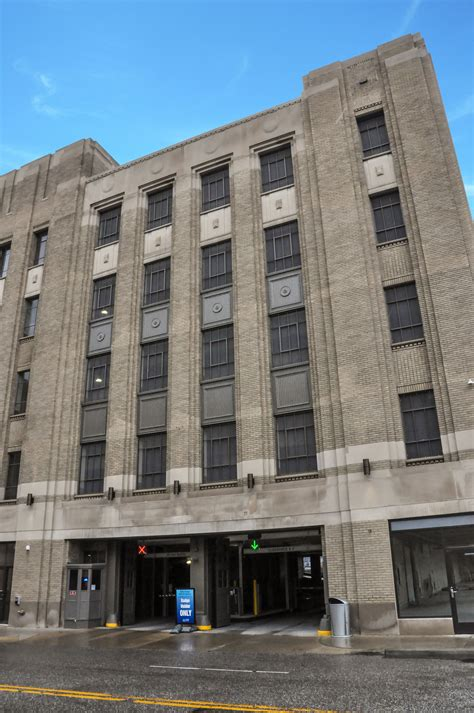 michigan pattern works inc historic parking garage in downtown detroit renovated and