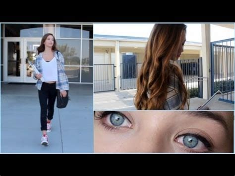 back to school hairstyles and outfits back to school hair makeup outfit giveaway youtube
