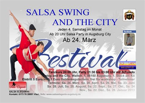 salsa swing salsa swing party and the augsburg city m 252 nchen salsa
