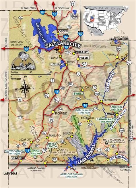 printable map utah utah map interactive map of utah tours and adventures