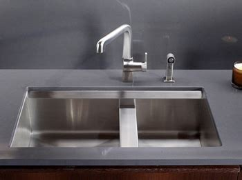 Kohler K 3672 NA 8 Degree Undercounter Double Compartment