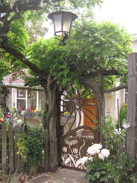 Garden Gate Ideas Rustic Metal Garden Gate Salt Cnc Water Jet Cutting Cnc Router Cutting
