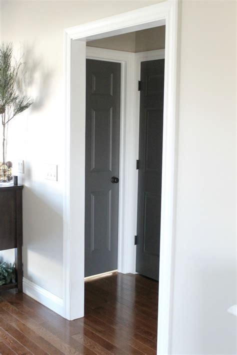 Painting Interior Doors Dark Painting Interior Doors