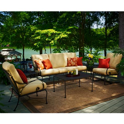 Family Leisure Patio Furniture by Monticello Seating Collection By Meadowcraft Patio