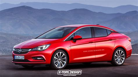 opel astra sedan 2015 2016 opel astra k sedan rendered lighter and more stylish